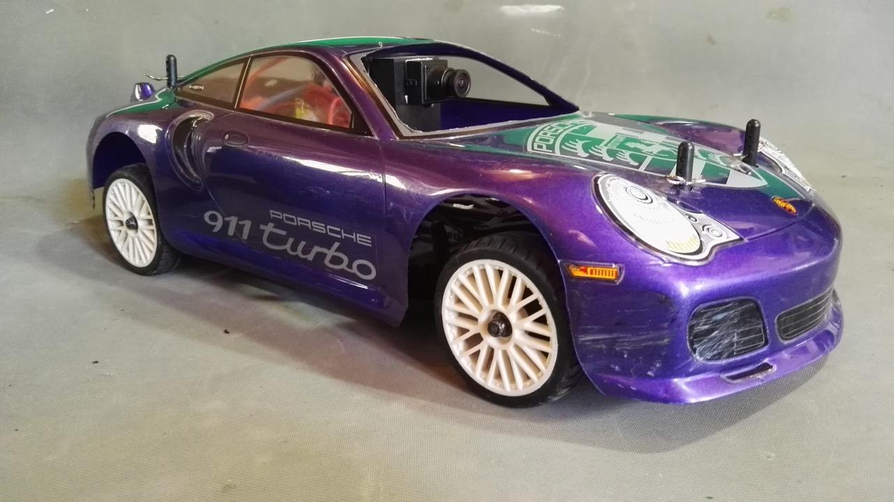 Voitures miniatures Porsche 911 1/10e